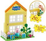 Peppa Pig PEPPA'S HOUSE  CONSTRUCTION Set - Build & Play - NEW